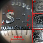 The main picture shows how nice and clean the  it exposed  the edges. This was on a 50 x 30mm exposure window.All compared against a mm ruler. Note some of the letter is 0.25mm wide