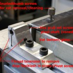 The VAT pivot block assembly